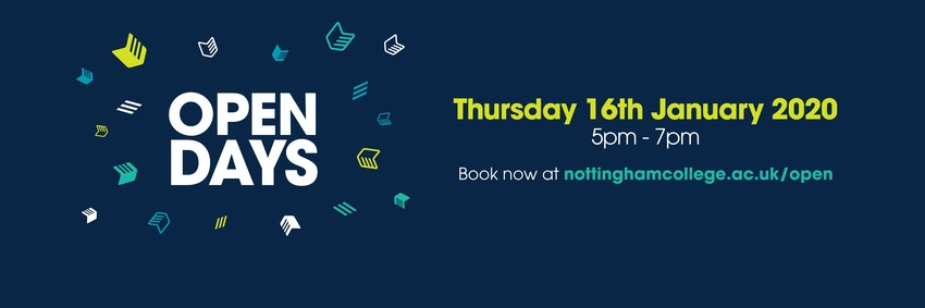 Open Days Thursday 16th January 2020 5:00 PM - 7:00 PM