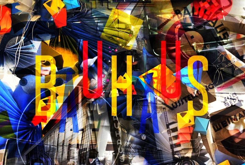Bauhaus-inspired work