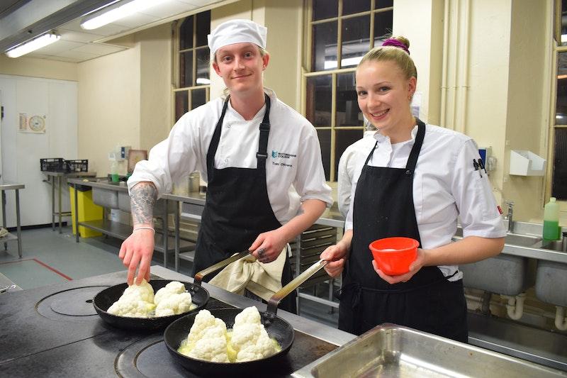 Tom Chivers and Louisa Ellis
