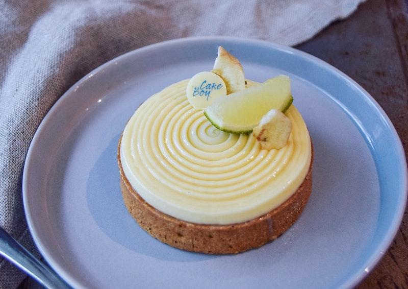 Cameron's banana, lime and ginger cake