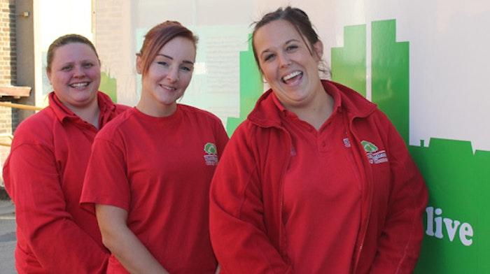 Nottingham City Homes Female Apprentices