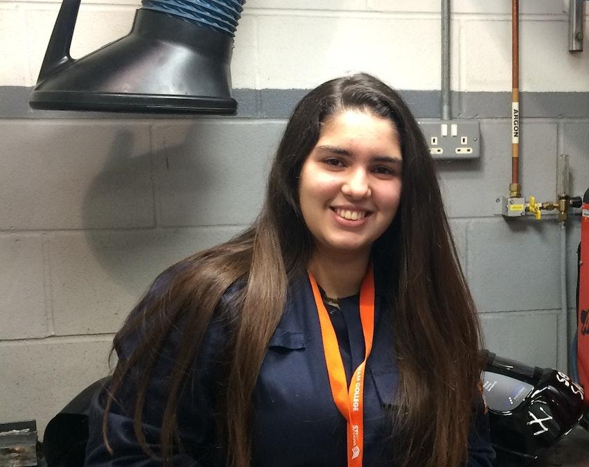 Engineering student Fiorella