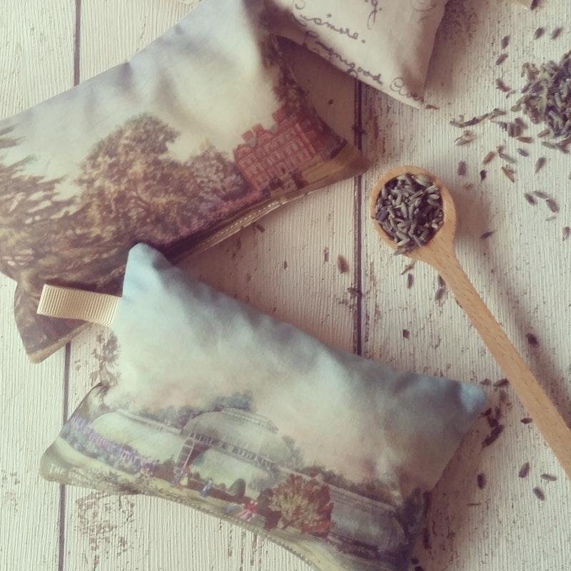 Lavender bags designed by Sarah for Kew Gardens