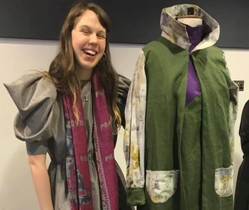Lieselotte and her winning garment