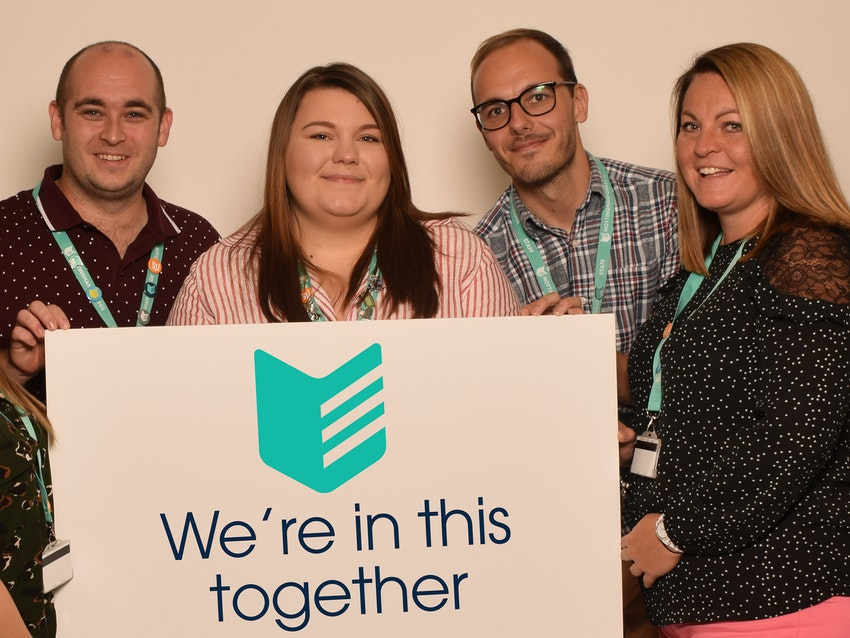 Wellbeing team - pic taken a while ago and recently edited!