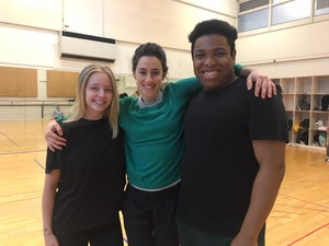 Lauren Perkins, Noa Mamrud and Malachi Minto