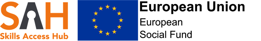 Skills Acess Network and ESF Logo