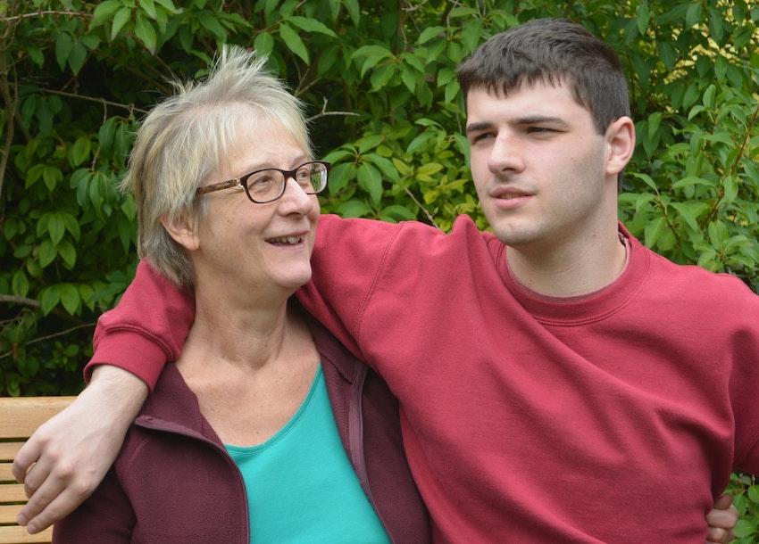 Duncan Jones And Mum Linda